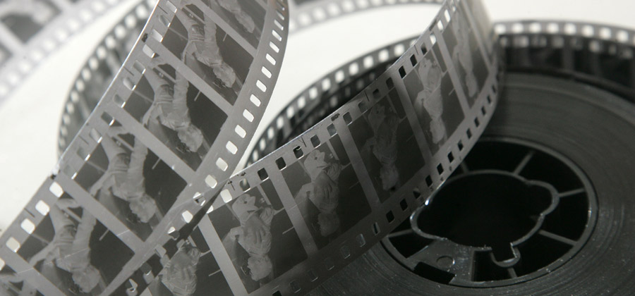 35mm movie negative